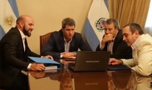 Sergio Uñac recibió la visita del rector de la UNSJ
