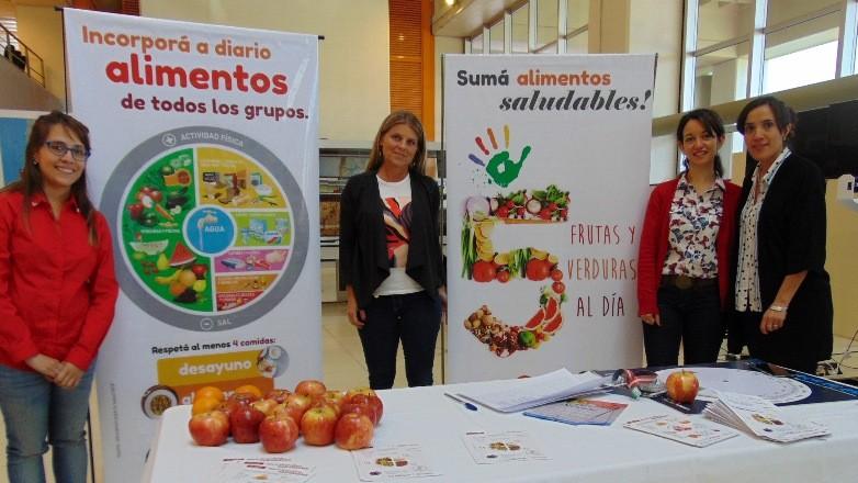 Salud Pública: por el Día de la Alimentación se entregaron colaciones saludables