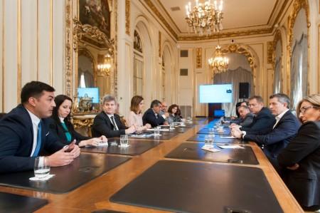 Funcionarios del COFECyT se reunieron en Casa Rosada para acordar el envío de fondos a las provincias