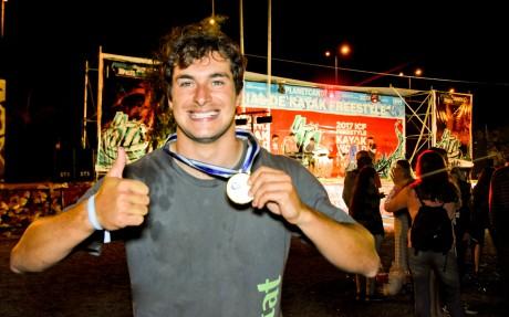Joaquim Fontané se consagró campeón del Mundial de Kayak Freestyle San Juan 2017