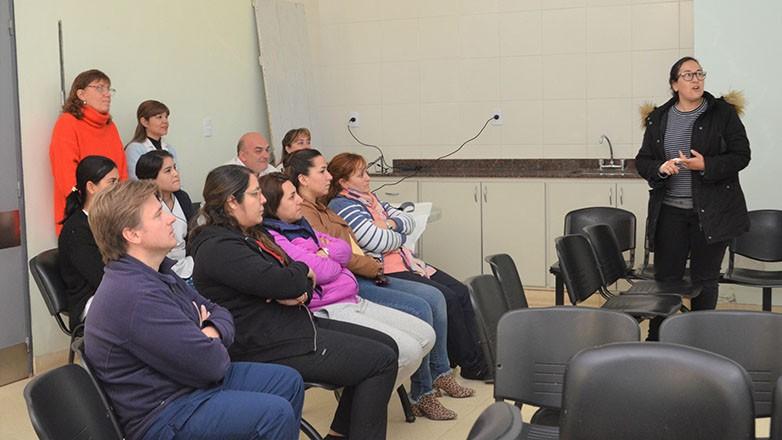 El equipo de salud de Albardón se capacitó en Triage y clasificación de pacientes