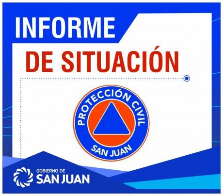 Sismo en San Juan - Informe preliminar de situación - 06/03/2018