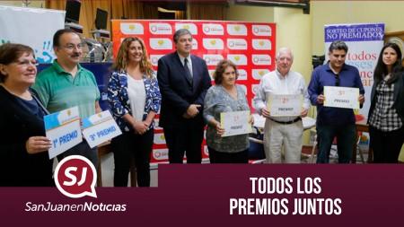 Todos los premios juntos   #SanJuanEnNoticias