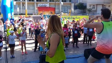 El Instituto Provincial de Hemoterapia participó en la Corre Caminata de Santa Lucía