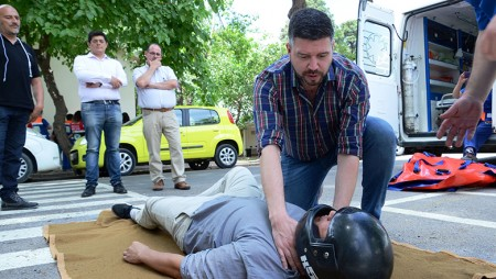 San Juan suma más instructores en emergencias sanitarias. Fotos: Facundo Quiroga
