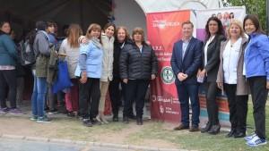 El equipo de salud de Rawson participó en la Feria del Libro
