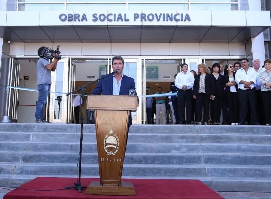 La Obra Social Provincia inauguró su nueva sede con tecnología de punta