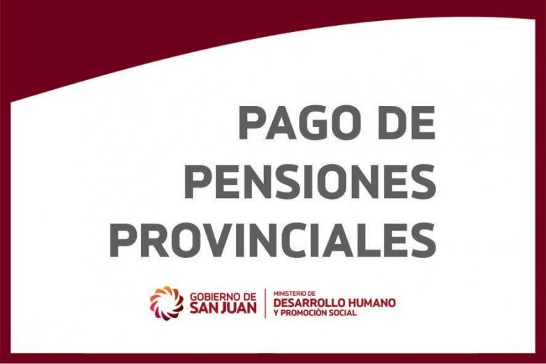 Inicia el pago de pensiones provinciales