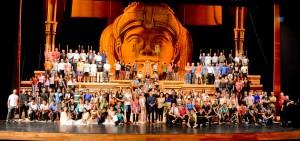 Egipto invade el Teatro del Bicentenario: conocé el detrás de escena de Aida