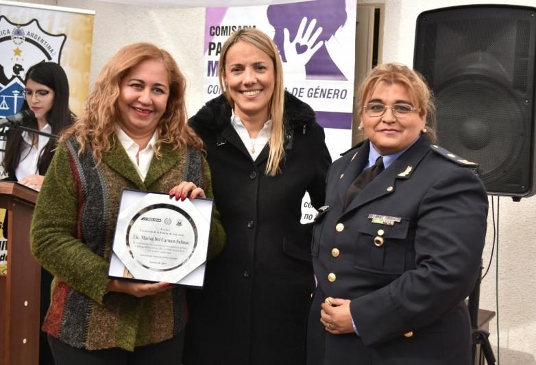 La Comisaría para la Mujer cumplió seis años actuando contra la violencia de género y familiar
