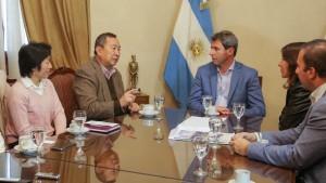 Sergio Uñac recibió a integrantes de la Fundación Cultural Argentino Japonesa
