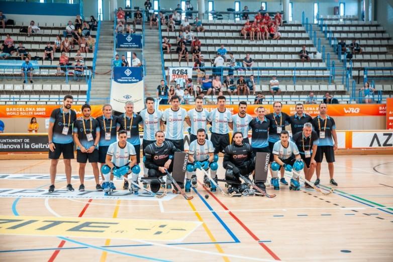 World Roller Games 2019: Argentina enfrenta a Colombia