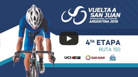 Volvé a ver la cuarta etapa de la Vuelta a San Juan 2019