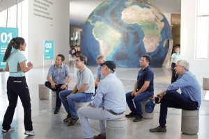 Empresarios de Brasil llegaron a Anchipurac