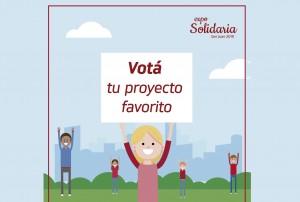Ya podés votar tu proyecto favorito de la Expo Solidaria 2019