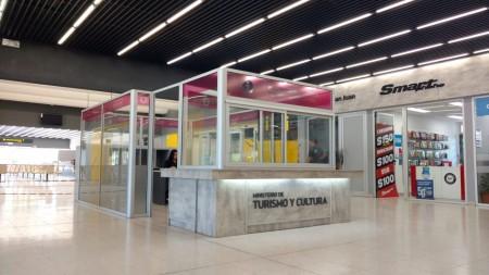 Inauguran la nueva oficina de informes turísticos en la Terminal