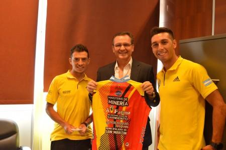 Hensel recibió a ciclistas de Agrupación Virgen de Fátima