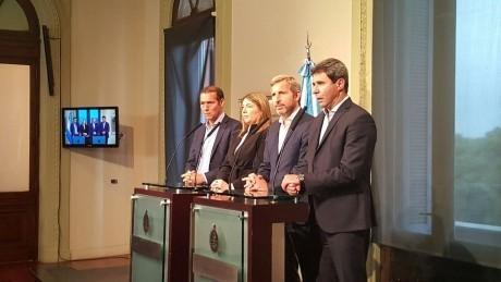 Concluyó la reunión de gobernadores con el Ministro del Interior