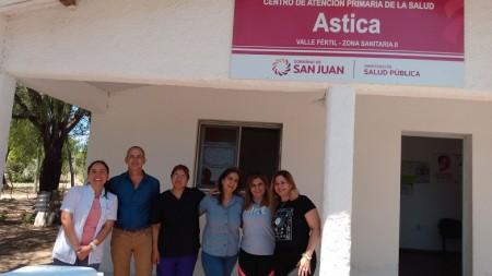 Se realizó una jornada de abordaje en Salud Renal en Valle Fértil
