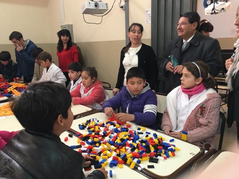 Alumnos vallistos tuvieron una jornada de aprendizaje a través de la gamificación