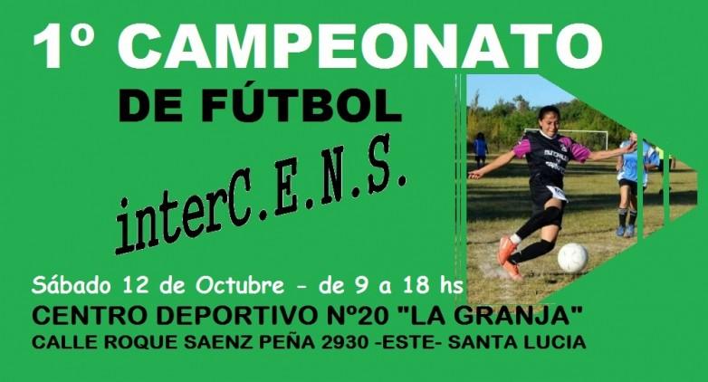 Primer campeonato de Futsal Inter CENS