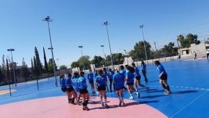 La selección de handball femenina quiere podio en los Binacionales