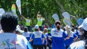 """Se realizó la jornada recreativa saludable """"Movete Mas"""" contra la inactividad y el sedentarismo"""