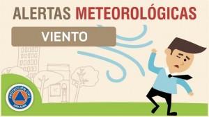 Alerta meteorológica N° 57 - Viento sur