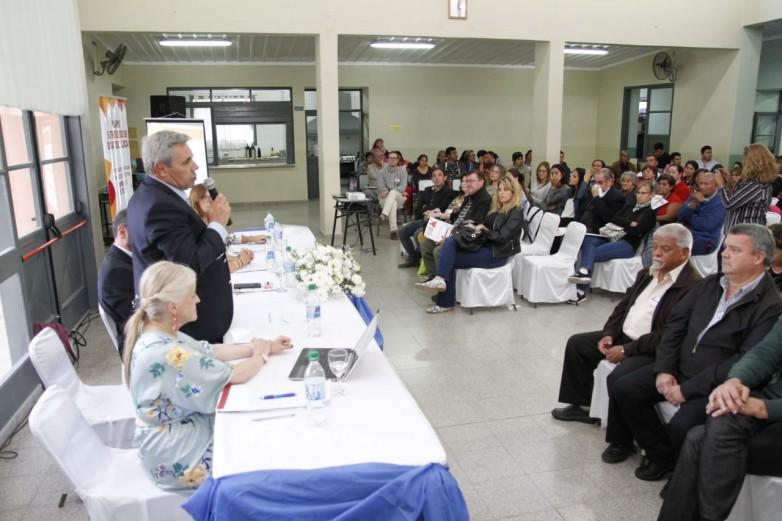 La Secretaría de Deportes, presente en Sarmiento en el encuentro por el San Juan 2030