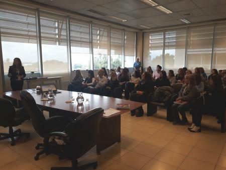 Primer encuentro de la Red de Enlaces de Capacitación de la provincia