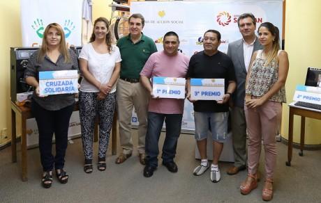 La Caja de Acción Social entregó premios