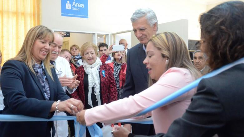 Se inauguró el área de Enfermería y Vacunación en el CIC de Villa Krause