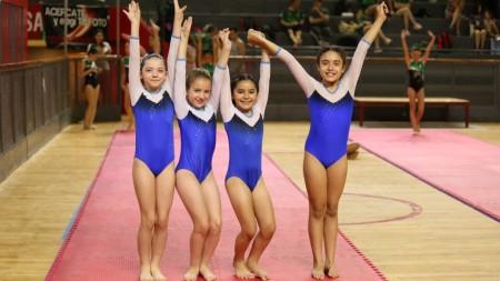 Grandes resultados para las gimnastas sanjuaninas