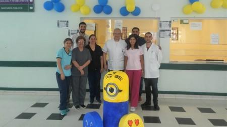 El hospital de Albardón concientizó sobre el uso adecuado de antibióticos