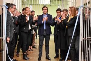 Emilio Baistrocchi inauguró obras en el Servicio Penitenciario