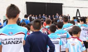 Inauguraciones en Club Amancay y en Alianza