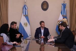 Uñac recibió al prestigioso director de arte y cine argentino Eugenio Zanetti