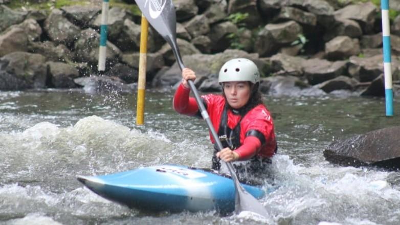 Presencia sanjuanina en el Sudamericano de Kayak