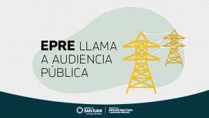 EPRE llama a Audiencia Pública