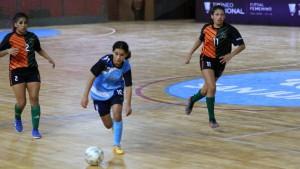 Momento de definiciones en el Nacional Femenino de Futsal
