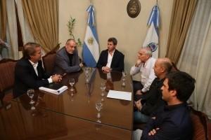 Funcionario de ECOGAS se reunió con el gobernador
