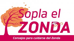 Campaña para cuidarnos del Zonda