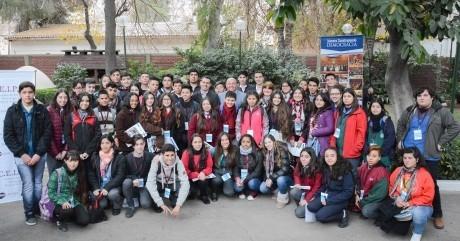 """""""Jóvenes Construyendo Democracia"""", en Casa de Gobierno"""