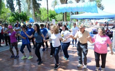 La comunidad de 25 de Mayo participó de todas las actividades por el Día de la Diabetes. Fotos: Facundo Quiroga y enviadas por los CAPS