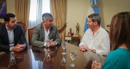 El alcalde de Vicuña se reunió con el gobernador Uñac