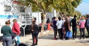 Vecinos de Villa Alba aprovecharon un nuevo abordaje territorial en Santa Lucía