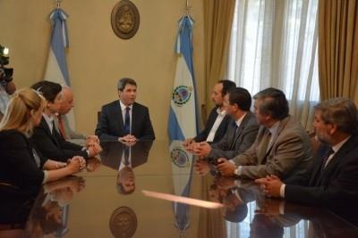 Autoridades Chilenas se reunieron con el gobernador