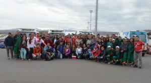 La ministra de Salud acompañó y felicitó a sus equipos en el Circuito El Villicum