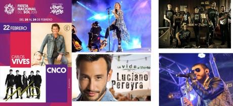 Carlos Vives y CNCO brillarán en la Fiesta Nacional del Sol 2018 – la FNS ya tiene grilla completa de artistas