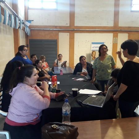 Dictaron una capacitación emprendedora en Santa Lucía